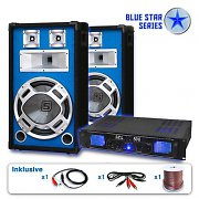 Serie Blue Star Basskick Set sonido profesional 1600W