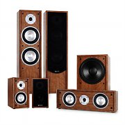 auna Linie-300-WN 5.1 home cinema sound system 515W RMS - walnoot