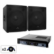 "DJ PA Set Malone 2.0 SUB ""Party"" Subwoofer ampli 3000W"