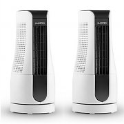 Klarstein Skyscraper Office Set 2 Ventilateurs colonnes 16W blanc