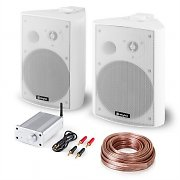 "Set PA HiFi ""Bluetooth Play WH"" Juego de altavoces Mini amplificador Bluetooth Cable"